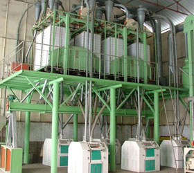 Complete Set of Flour Mill