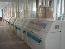 The storey of flour milling machine